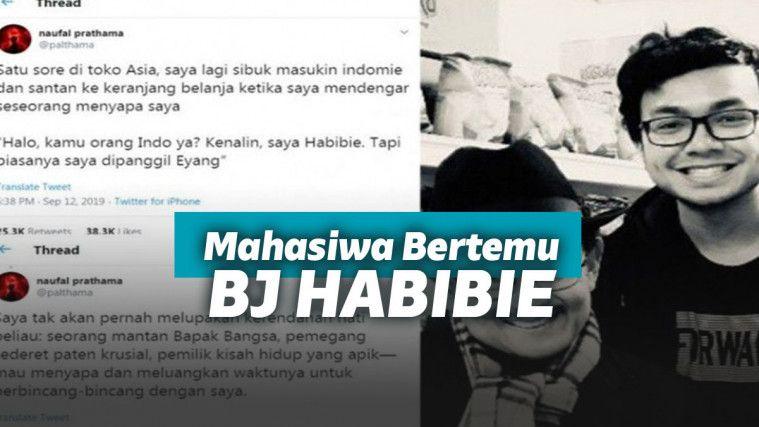 Mahasiswa Indonesia Ini Ceritakan Kisahnya Bertemu BJ Habibie di Jerman | Keepo.me