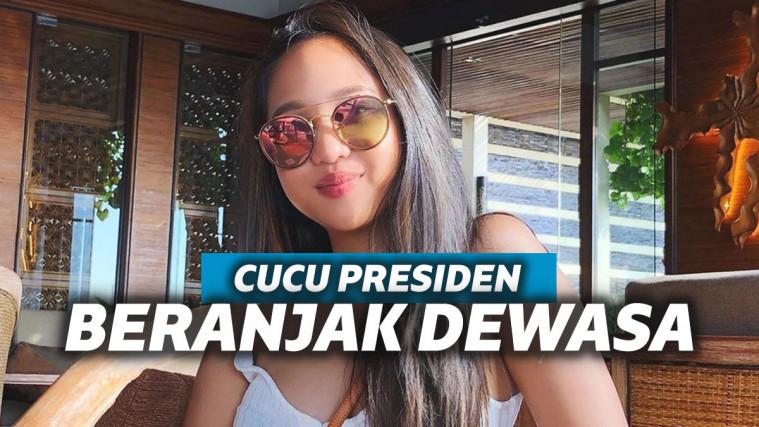6 Cucu Presiden Indonesia Ini Sudah Beranjak Dewasa, Intip Yuk Potret Mereka | Keepo.me
