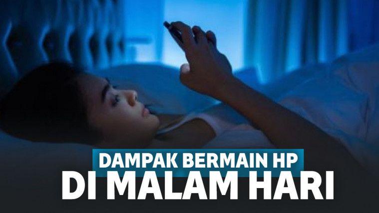 Jangan Menggunakan Handphone di Atas Jam 11 Malam