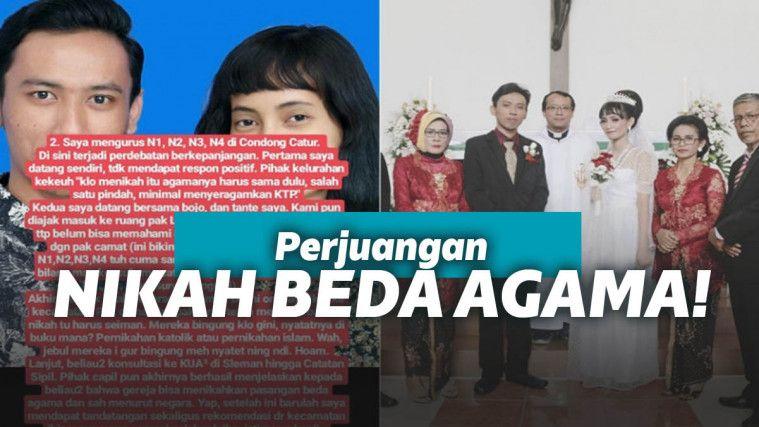 Perjuangan Pasangan Nikah Beda Agama Di Indonesia