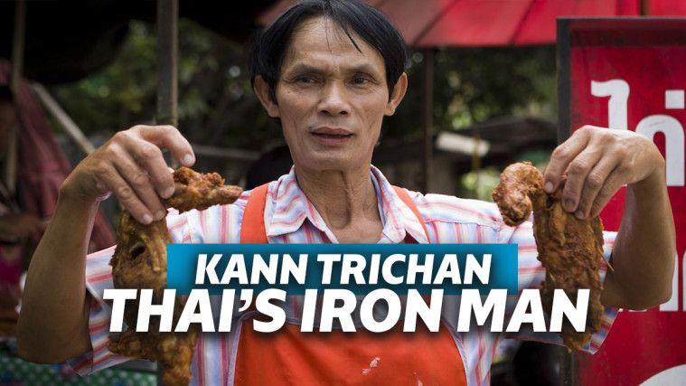 "Kann Trichan ""Iron Man"" dari Thailand yang Tangannya Nggak Pernah Melepuh | Keepo.me"
