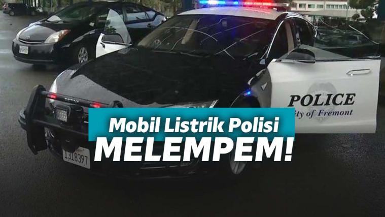 Sok Ramah Lingkungan, Polisi Negara Maju ini Malah Apes Saat Ngejar Penjahat Pakai Mobil Listrik! | Keepo.me