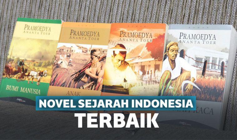 15 Novel Sejarah Indonesia Terbaik Yang Wajib Dibaca
