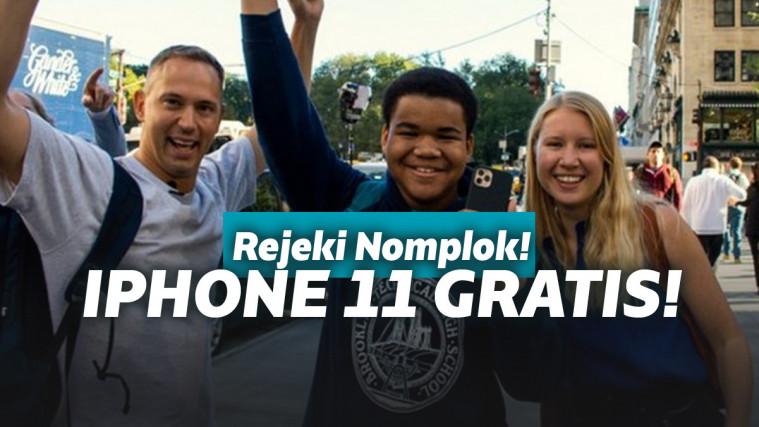 Mendapat iPhone gratis