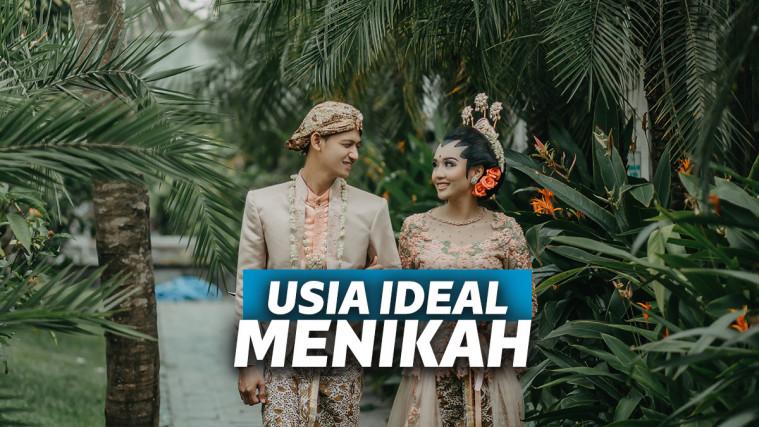 Usia Ideal Menikah Berdasarkan Hukum di Indonesia