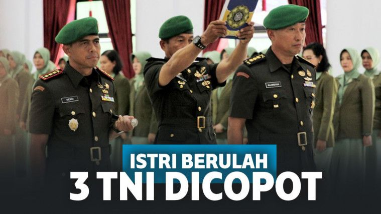 Istri Nyinyir Penusukan Wiranto, 3 Anggota TNI Dapat Sanksi hingga Dicopot dari Jabatan | Keepo.me