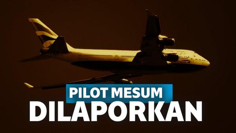 Pilot Dilaporkan Penumpang Akibat Melecehkan Pramugari di Speaker | Keepo.me