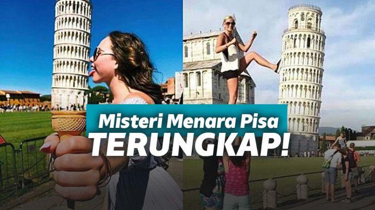 Ribuan Tahun Menjadi Misteri, Akhirnya Kemiringan Menara Pisa Berhasil Diungkap! | Keepo.me
