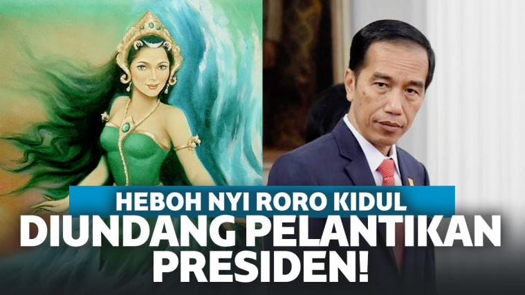 Tak Hanya Pejabat, Nyi Roro Kidul dan Nyi Blorong Juga Diundang ke Pelantikan Jokowi! | Keepo.me