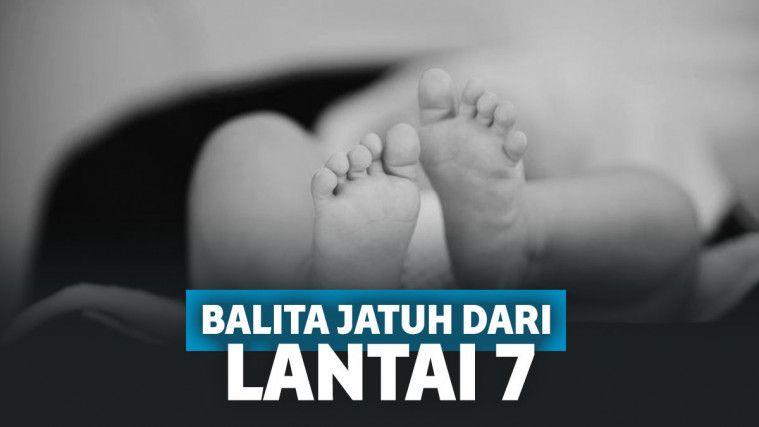 Nangis Ditinggal Ibunya, Balita Ini Tewas Terjatuh dari Lantai 7 Rusunawa Tambora | Keepo.me