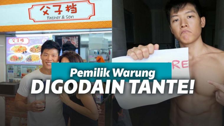 Penjual Makanan Terlalu Tampan, Sang Pacar Melarang Pembeli Wanita Datang ke Warung! | Keepo.me