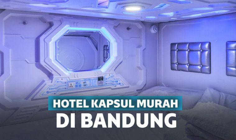 Rekomendasi 11 Hotel Kapsul Murah di Bandung, Bikin Betah Nginap! | Keepo.me