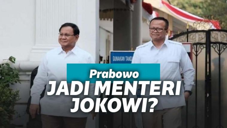 Rival 2 Kali, Kini Pentolan Partai Gerindra, Prabowo Subianto Dipanggil Jokowi Jadi Menteri | Keepo.me