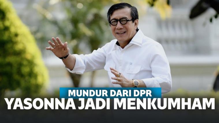 Baru Mengundurkan Diri Demi Jadi Anggota DPR, Kini Yasonna Siap Mundur Lagi Demi Menkumham | Keepo.me