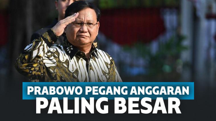 Resmi Jadi Menhan, Prabowo Bakal Pegang Anggaran Terbesar hingga Rp 127,4 Triliun! | Keepo.me