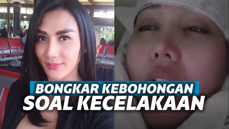 Tanggapi Kabar Kecelakaan Lucinta Luna, Melly Bradley: Cie yang Operasi Jidat | Keepo.me