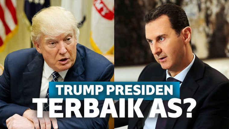 Presiden Suriah Sebut Trump Presiden Terbaik Amerika | Keepo.me