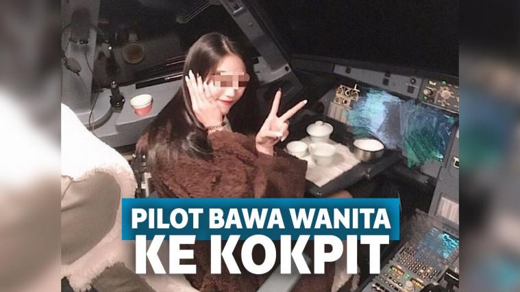 Pilot Ini Dihukum Berat Gara-gara Bawa Wanita Cantik ke Kokpit Pesawat, Mau Ngapain? | Keepo.me