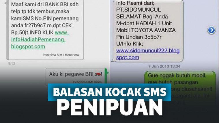Gagal Menipu, 10 Balasan SMS Penipuan Ini Kocak Banget