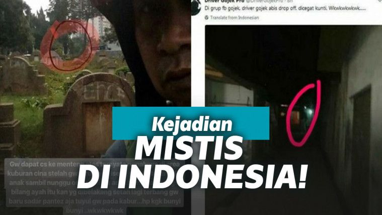 Sederet Kejadian-Kejadian Mistis di Indonesia yang Belum Terpecahkan! | Keepo.me