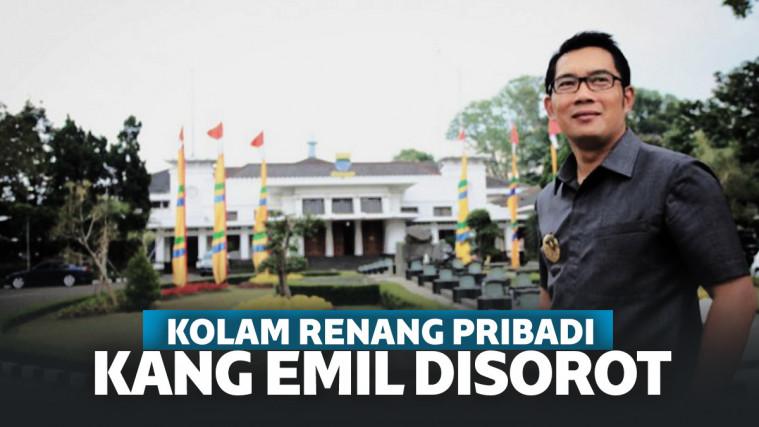Heboh Revitalisasi Rumah Dinas Ridwan Kamil, Ada Kolam Renang Pribadi 1,5 M!