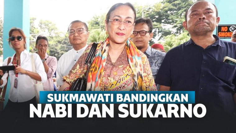 Sukmawati Bandingkan Nabi Muhammad dan Sukarno, Netizen: Tolong Ruqyah! | Keepo.me