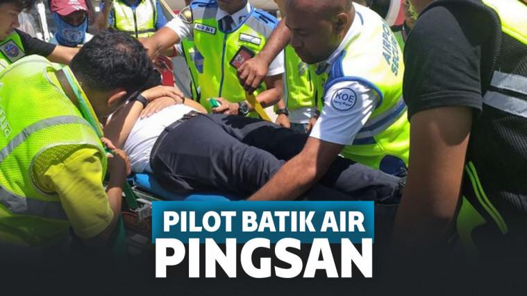 Pesawat Batik Air Mendarat Darurat di Kupang karena Pilot Pingsan, Ini Penyebabnya! | Keepo.me
