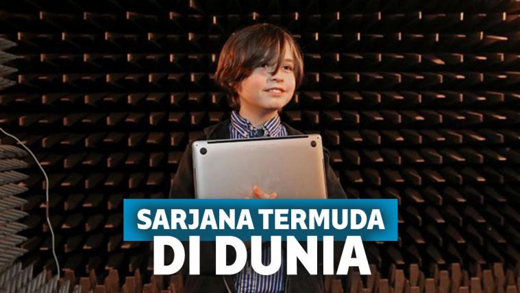 Bocah Ajaib Berusia Sembilan Tahun Akan Jadi Sarjana Termuda Dunia | Keepo.me
