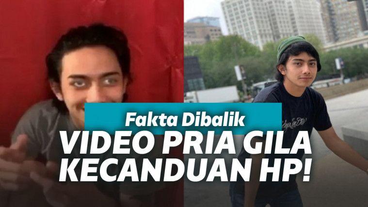 Sempat Diklaim Gangguan Jiwa Gara-gara HP, Video Viral Pria ini Ternyata Cuma Hoax Belaka! | Keepo.me
