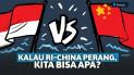 Konflik Natuna Makin Panas. Begini Jika Akhirnya Indonesia vs China perang