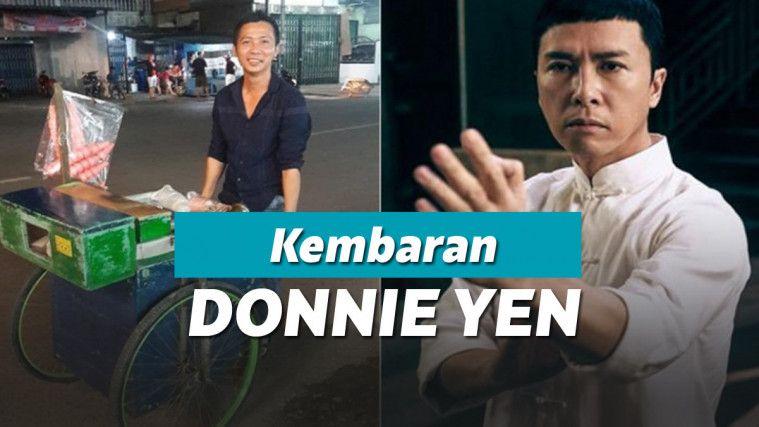 Mirip Banget Sama Donnie Yen, Penjual Es dari Singkawang Ini Viral di Media Sosial | Keepo.me