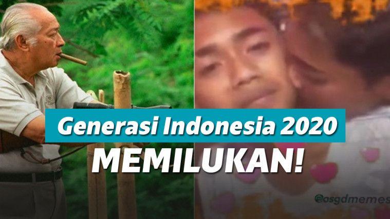 Presiden Soeharto Dulu Berharap Indonesia Maju di 2020, Sekarang Potret Generasinya Memilukan | Keepo.me