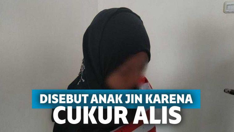 Gara-gara Cukur Alis, Siswi Ini Diteriaki Anak Jin oleh Gurunya dan Diminta Sumpah di Atas Al-Quran | Keepo.me