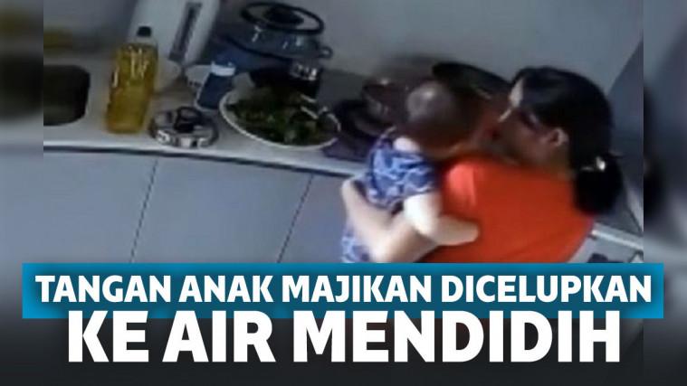 Agar Bisa Pulang Kampung, Pembantu Ini Tega 'Rebus' Tangan Anak Majikan di Air Mendidih | Keepo.me