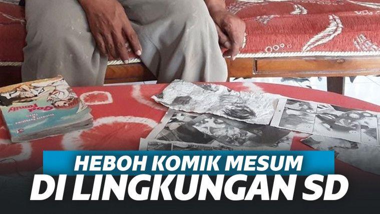Heboh Komik Mesum di Lingkungan SD Kendal, Ada Tulisan: Jangan Sampai Hamil Ya | Keepo.me