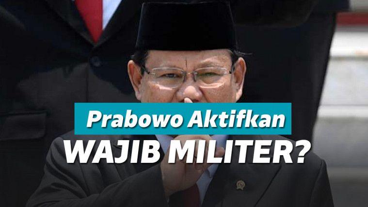 Prabowo Dikabarkan Bakal Aktifkan Sishankamrata, Diduga Mirip Wajib Militer? | Keepo.me