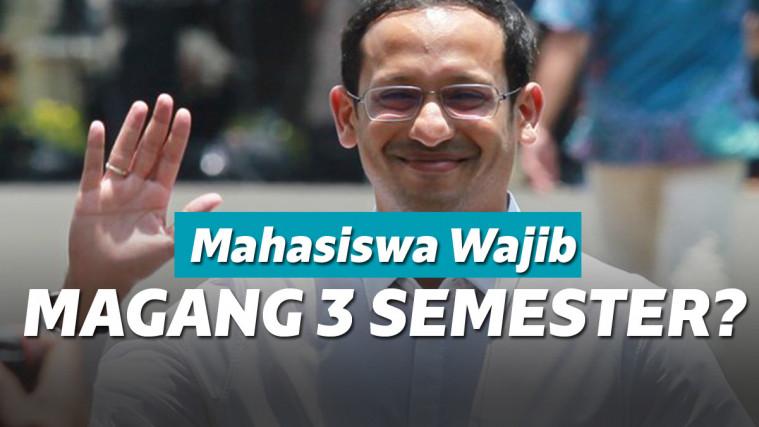 Dear Mahasiwa, Mendikbud Kini Wajibkan Magang 3 Semester, Netizen: Babak Belur Pak! | Keepo.me