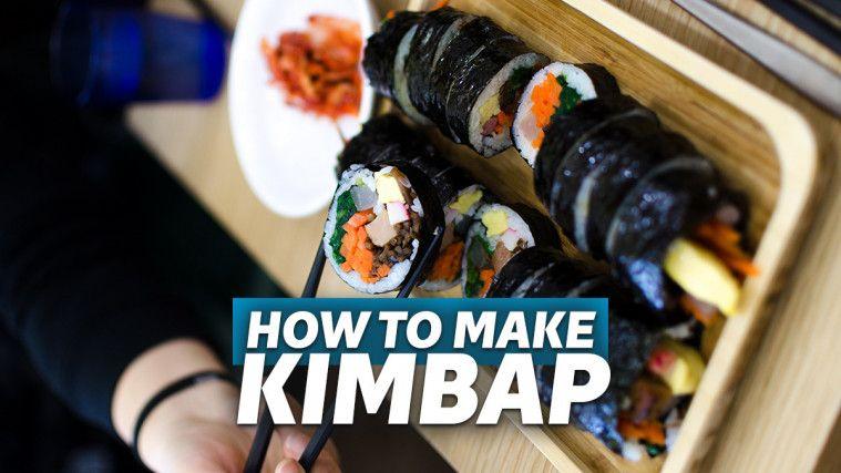 Cara Membuat Kimbab Korea Handmade, Dijamin Enak dan Bikin Kenyang | Keepo.me