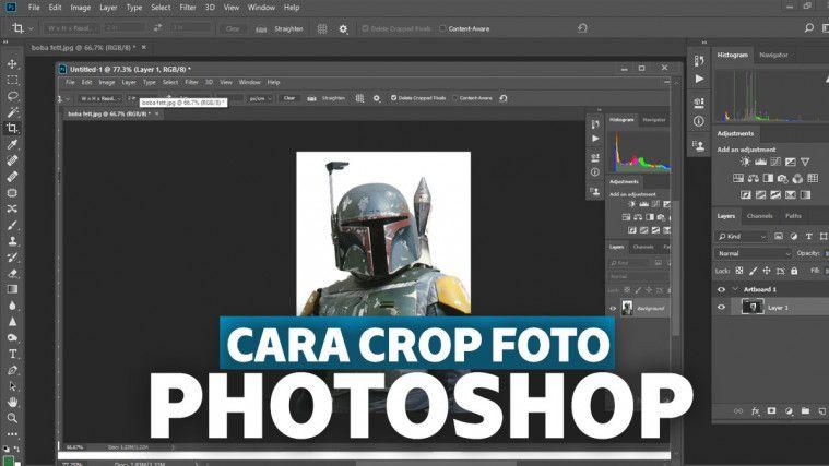 Cara Crop Foto di Photoshop Ukuran 2x3, 3x4, 4x6, dan Sesuai Bentuknya, Mudah dan Cepat! | Keepo.me