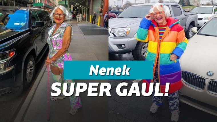 Punya Selera Fashion yang Gaul, Nenek Ini Bikin Influencer Fashion Malu Sendiri | Keepo.me