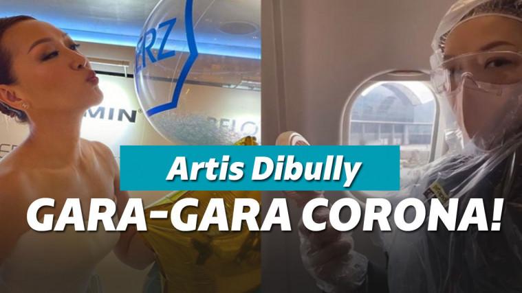 Pakai Medical Kit Lengkap untuk Cegah Corona, Artis Ini Dituding Pencitraan! | Keepo.me