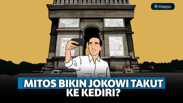Jokowi Takut Kediri