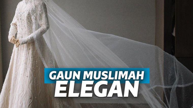 Inspirasi Gaun Pengantin Muslimah, Glamor Namun Tetap Syar'i | Keepo.me