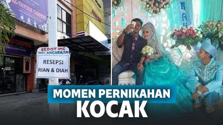 Deretan Momen Kocak Ini Malah Bikin Pernikahan Gagal Sakral! | Keepo.me