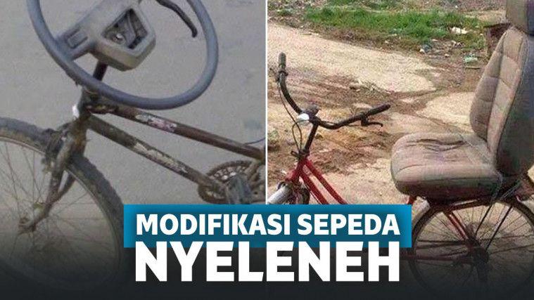 Kocak Banget! 11 Modifikasi Sepeda Super Nyeleneh Ini Ngocok Perut Abis | Keepo.me
