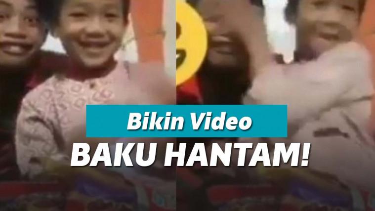 Niat Bikin Video Buat Youtube, Endingnya Dua Bocah ini Malah Baku Hantam! | Keepo.me
