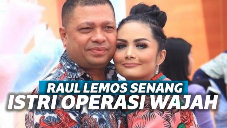 Krisdayanti Ngaku Operasi Wajah dan Implan Payudara, Raul: Siapa yang Nggak Mau Istri Cantik? | Keepo.me