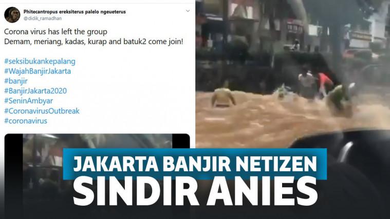 Minta Formula E Diganti Lomba Renang, Ini Cuitan Kocak Netizen Saat Jakarta Banjir Lagi! | Keepo.me