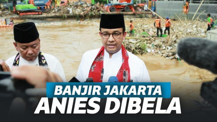 Bamus Betawi Soal Jakarta Terendam: Kalau Bukan Anies Gubernur Sholeh, Banjir Tiap Senin Selasa Rabu! | Keepo.me