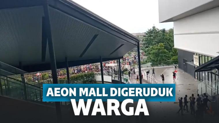 Dituding Buang Air Banjir ke Pemukiman, AEON Mall Jakarta Digeruduk Warga! | Keepo.me